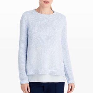 Club Monaco Kaelane Baby Blue Knitted Sweater